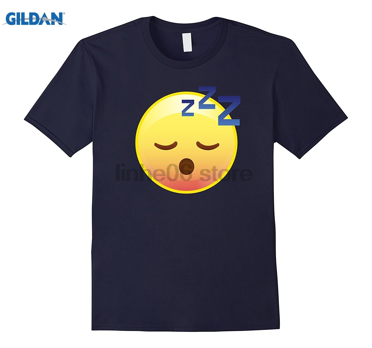 GILDAN Cute Sleeping Emoji Zzz T-Shirt - Perfect for Pajamas & PJs sunglasses women T-sh ...