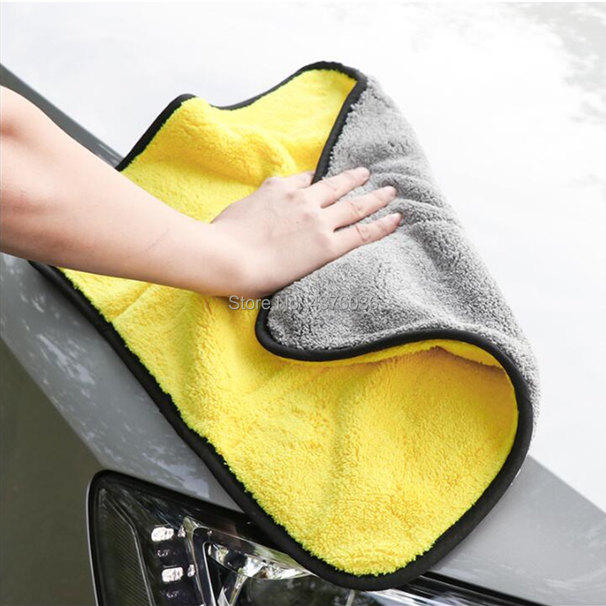 2019 Hot Car Wash Microfiber Towel FOR  Toyota Aygo Peugeot 207 107 Mini Cooper Polo 6r Volvo V70 Renault Captur Opel Golf 6
