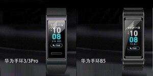 Image 5 - VSKEY 100 sztuk miękkie osłona na ekran z TPU dla Huawei Honor dyskusja zespół 4 5 3 2 A2 ERIS ochraniacz ekranu smart watch ochronne film