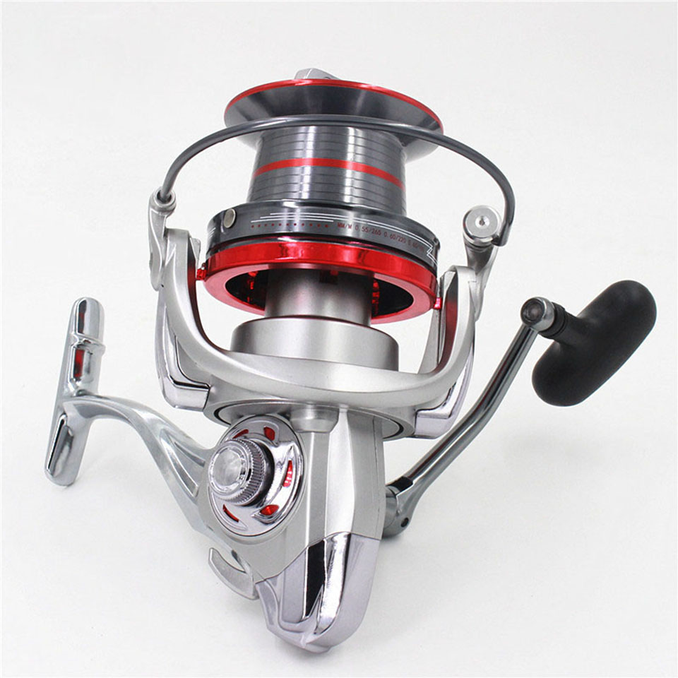 14+1BB 4.0:1 Full metal spool Jigging trolling long shot casting for carp saltwater surf spinning big sea fishing reel haibo professional saltwater spinning fishing reel 5000 6000 7000 8000 9000 7bb 4 9 1 surf casting reel trolling jigging wheel