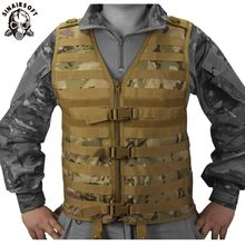 SINAIRSOFT Molle Airsoft Tactical Vests Vest Camouflage Vest Army Military CS Outdoor Fishing Hunting Gear Swat Militaria(China)