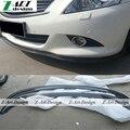 Venda quente 2009-2013 G35 G37 Fibra De Carbono Frente Auto Car Bumper Lip Spoiler Para Infiniti G35 G37 09-13