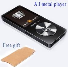 2017 Original de Alta Fidelidad Reproductor de MP3 con Altavoz de Metal APE/FLAC/WAV de Alta Calidad 8 GB de Entrada de Sonido nivel Lossless Reproductor de Música con FM