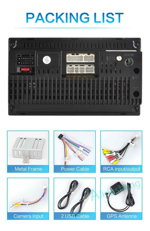 アンドロイド 8.1 2 Din 2 グラム + ROM32G 車ラジオマルチメディアビデオプレーヤーユニバーサル Gps マップ日産現代起亜トヨタ rav4