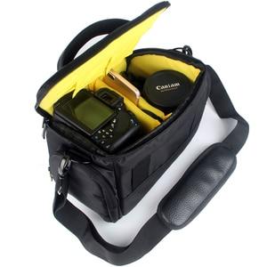 Image 5 - DSLR Camera Case Shoulder Bag Waterproof for Nikon D3300 Canon 200D Pentax Sony Fujifilm XE3 Olympus Cover