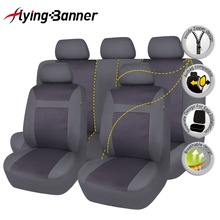 Polyster Full Car Seat Cover Automobiles Covers Universal Fit Most Seats For Interior Accessories Car-Styling