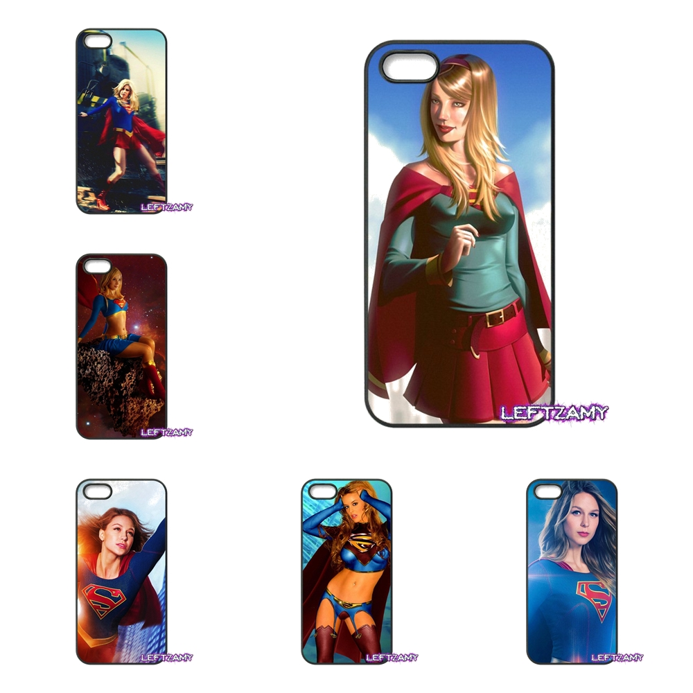Supergirl Super Girl Ladies Hard Phone Case Cover For iPhone 4 4S 5 5C SE 6 6S 7 8 Plus X 4.7 5.5 iPod Touch 4 5 6