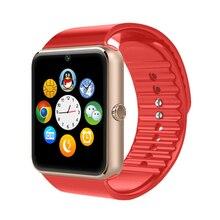 2016 Bluetooth Smart Uhr GT08 tragbare geräte Smartwatches Unterstützung Sim Karte MP3 Für Samsung Huawei ios Android telefon pk DZ09