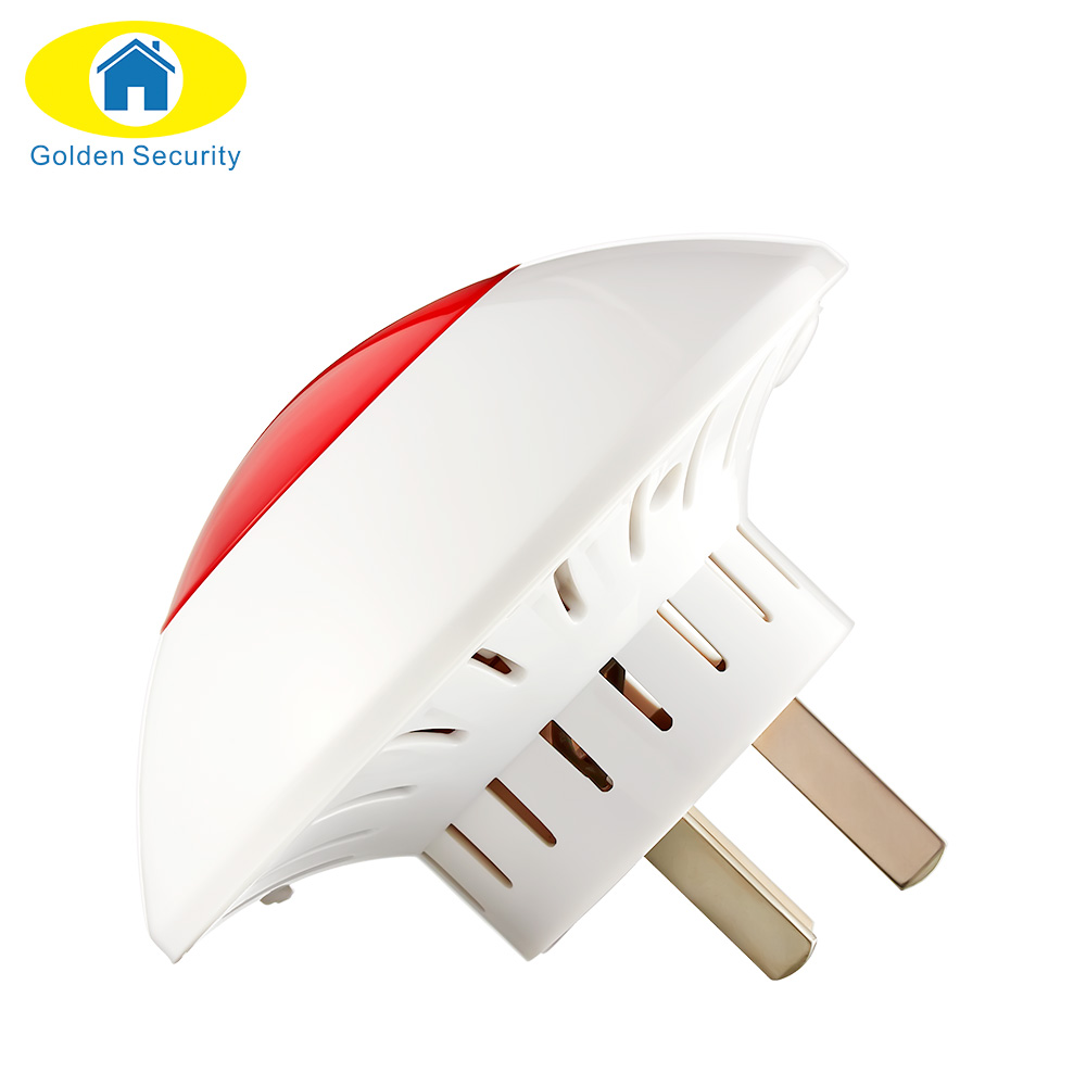 Alarm Flash Horn Wireless Flashing Siren hot product Red Light Strobe Siren 433 MHz suit for