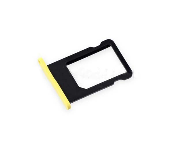 1 Piece Original New Replacement for iPhone 5C SIM Card Tray Holder Slot High Quality Mobile Phone Repair Parts Whole Sale