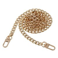 Round Replacement Chain Flat For Handbag Purse Or Shoulder Strapping Bag Silver 9mm