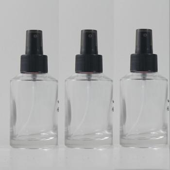 125ml clear/transparent Glass lotion bottle with black plastic pump,cosmetic packing,cosmetic bottle,packing for liquid