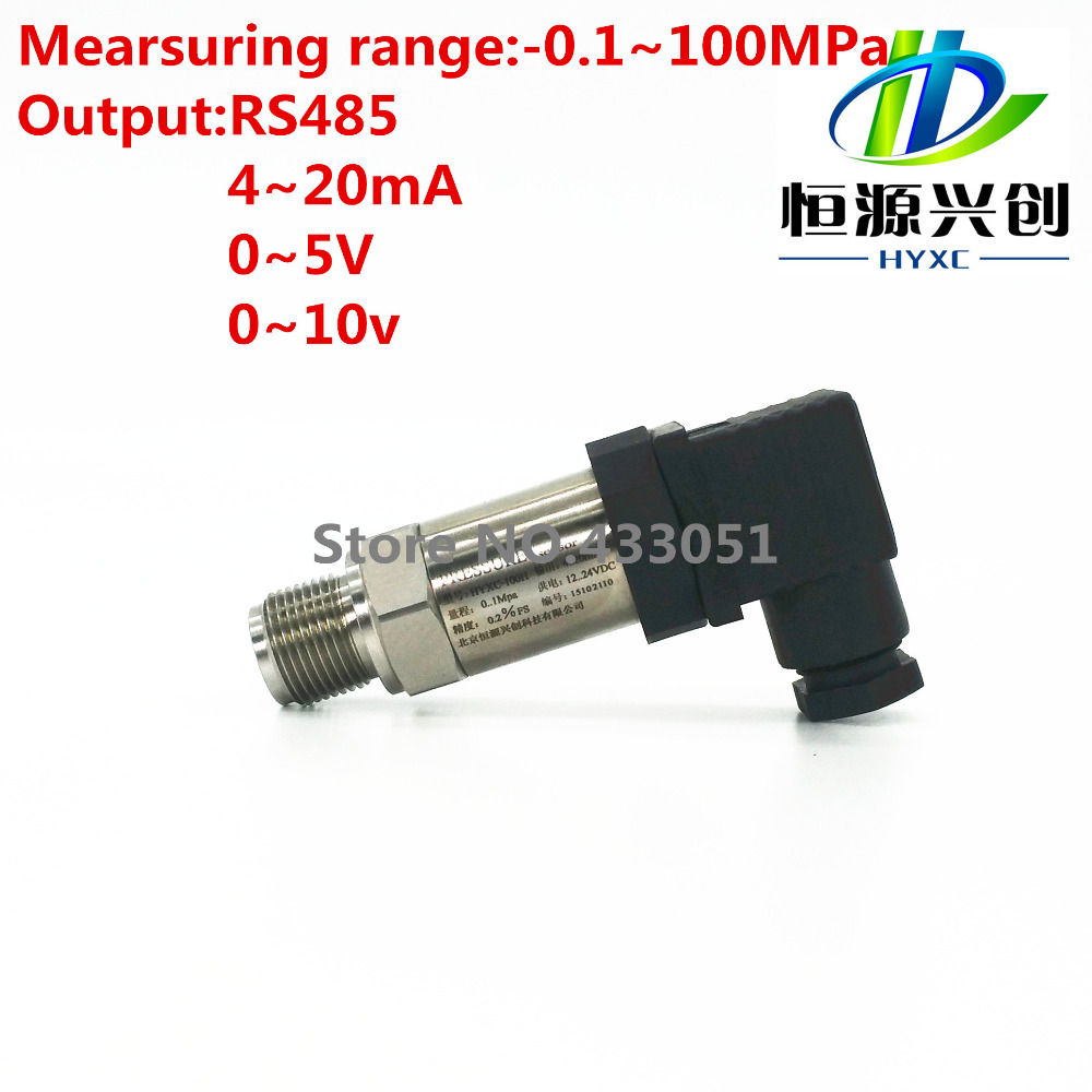 Digital type pressure transmitter/sensor Output : RS485;Range: -0.1-100Mpa,pressure monitoring suitable for various environments homeleader 7 in 1 multi use pressure cooker stainless instant pressure led pot digital electric multicooker slow rice soup fogao