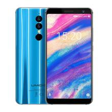 UMIDIGI A1 PRO 5.5 Inch Dual 4G Android 8.1 Smartphone MTK6739 1.5GHz Quad Core 3GB + 16GB Triple Cameras Facial Recognition cubot h3 5 0inch 6000mah mt6737 android 7 0 quad core 3gb 32gb 13 0mp smartphone s 14
