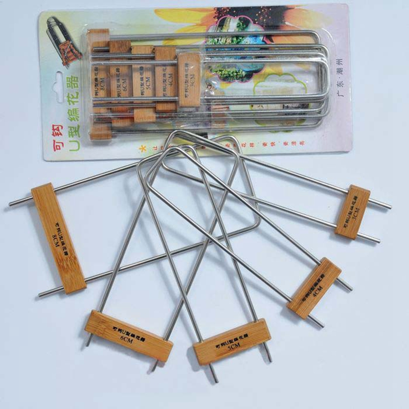 Knitting Tools List : Pcs set knitting tools flower fork knitted device
