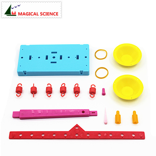 Wholesale Plastic Educational Lever Principle Balance Scale Experiments Diy Material Physics Teaching For Kids Students #2
