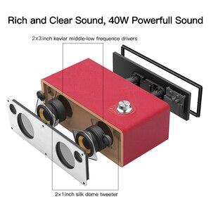 Image 3 - GGMM M3 40W głośnik Bluetooth WiFi głośnik bezprzewodowy ciężki bas HiFi Subwoofer Audio najlepszy głośnik wsparcie Multiroom DLNA Airplay