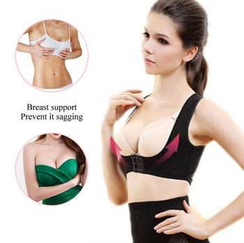 1PC Women Chest Posture Corrector Support Belt Body Shaper Corset Shoulder Brace for Health Care Drop