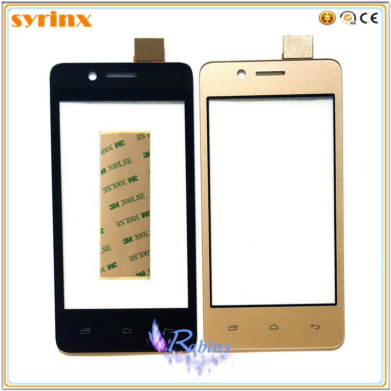 SYRINX Phone <font><b>Touch</b></font> Panel For <font><b>Micromax</b></font> Bolt <font><b>Q402</b></font> <font><b>Touch</b></font> Screen Screen Digitizer Sensor Front Glass Lens Touchscreen 3M TAPE image