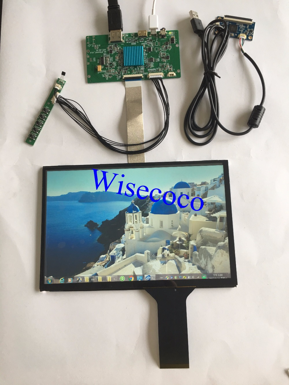 Wisecoco 10.1 <b>inch</b> 2K TFT LCD display with <b>touch</b> panel 2560 ...
