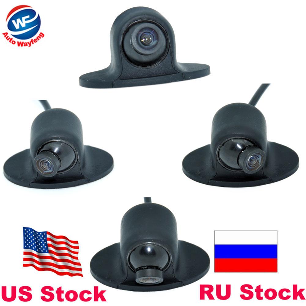 Vendita calda Mini CCD HD Night Vision Telecamera di retromarcia a 360 gradi Telecamera anteriore Fotocamera anteriore Telecamera di retromarcia