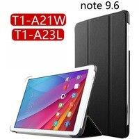 For Huawei Honor Note T1 10 T1 A21W T1 A21L T1 A23L High Quality 3 Folder