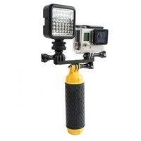 LED Video Light Supplement Lamp Night Flash Fill Light Charger For Gopro Hero 5 4 3