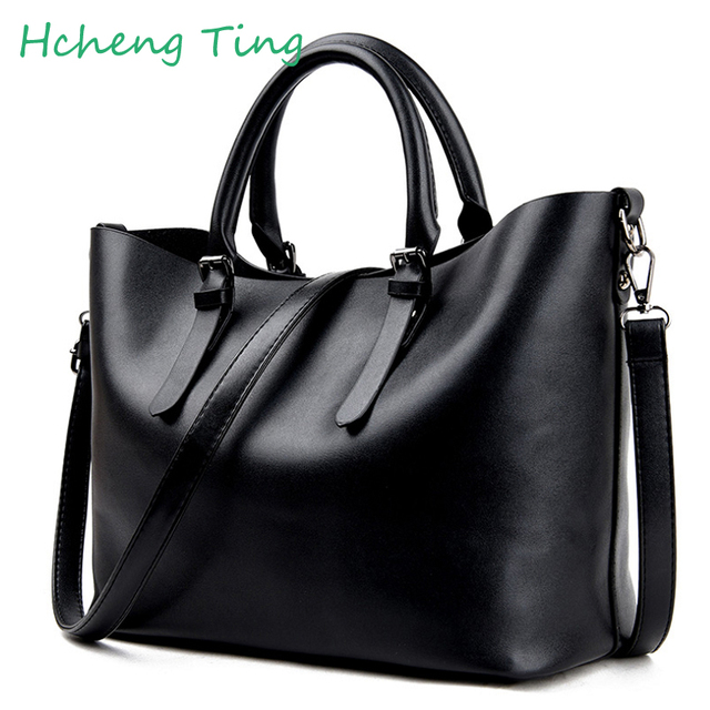 4200420cdb 2017 Fashion Hobos Women Bag Ladies Brand Leather Handbags Spring Casual Tote  Bag Big Shoulder Bags
