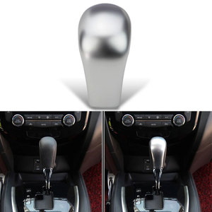 New ABS Gear Shift Knob Trim Cover Clip Cap Decoration Fit For Nissan 2014 2015 Rogue X-Trail Sentra Car Styling Car-covers