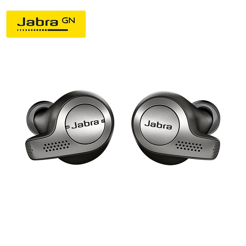 Jabra Elite 65t Alexa Habilitado Verdadeiro Fones de Ouvido Sem Fio com Caso De Carregamento