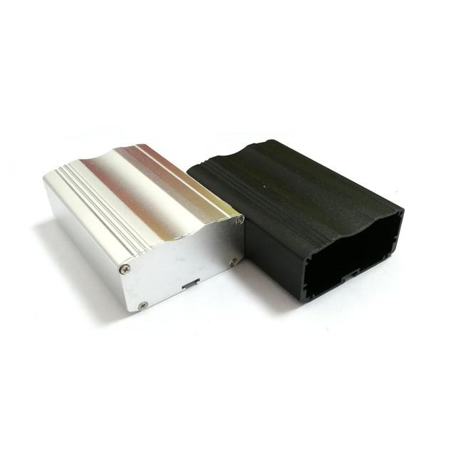 1 cái Cụ công nghiệp vỏ nhôm bao vây hợp kim nhỏ dự án hộp DIY 53*26*80 mét phân phối điện tử trường hợp