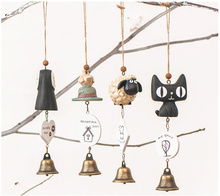 Simple life vintage home decor creative cartoon animals wind chime bar wedding decoration