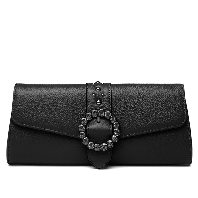 Cover Envelope Bag Ladies Clutches Wallet Woman Clutch Purse Diamonds Decorative Buckle Handbag Crossbody Messenger Shoulder Bag new punk fashion metal tassel pu leather folding envelope bag clutch bag ladies shoulder bag purse crossbody messenger bag