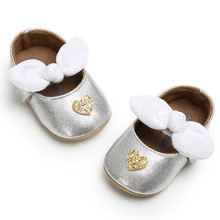 Baby Boys Love Shoes Bowknot Fashion Toddler First Walkers Kid Shoes Baby Summer 0-1-3 Year Anti-slip Soft Bottom  Shoes