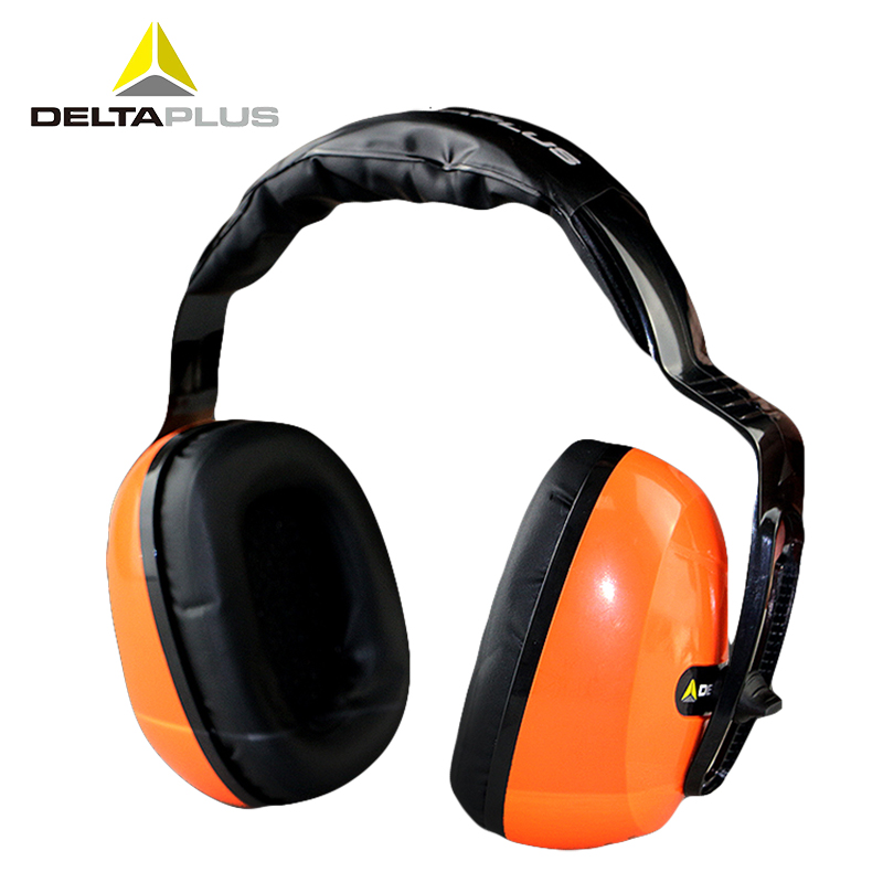 Deltaplus Anti-noise Earmuffs Working Sleeping Noise reduction Ear Protector Soundproof Headset Protective ear muffs SNR29dB