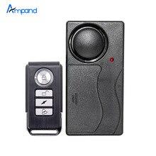 Security Alarm Wireless Remote Control Vibration Door/Window Detector Burglar