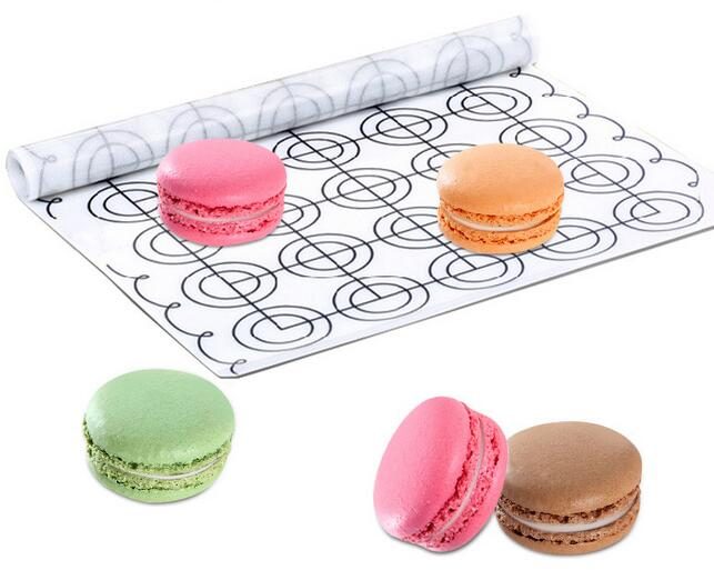 65 Circles Round DIY Silicone macarons mat or non stick fda silicone fiberglass baking mat macaron