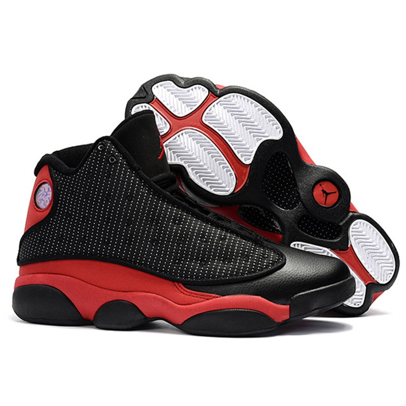 save off 3a1c6 0fcd3 US $51.27 35% OFF|Jordan Air Retro13 XIII Men Basketball Shoes Bred Love  Respect White Olive Altitude Chicago HYPER ROYAL Athletic Outdoor Sport  S-in ...
