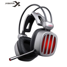 XIBERIA S21 Gaming Headset USB 7.1 Surround Sound Stereo Deep Bass Headphones with Microphone LED Light for PC Computer Gamer цены онлайн