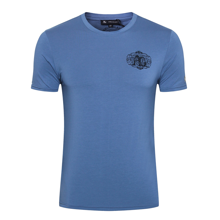 BILLIONAIRE T hemd männer 2019 sommer neue Mode lässig Dünne England komfort elegante goemetry baumwolle Oansatz freies verschiffen-in T-Shirts aus Herrenbekleidung bei  Gruppe 1
