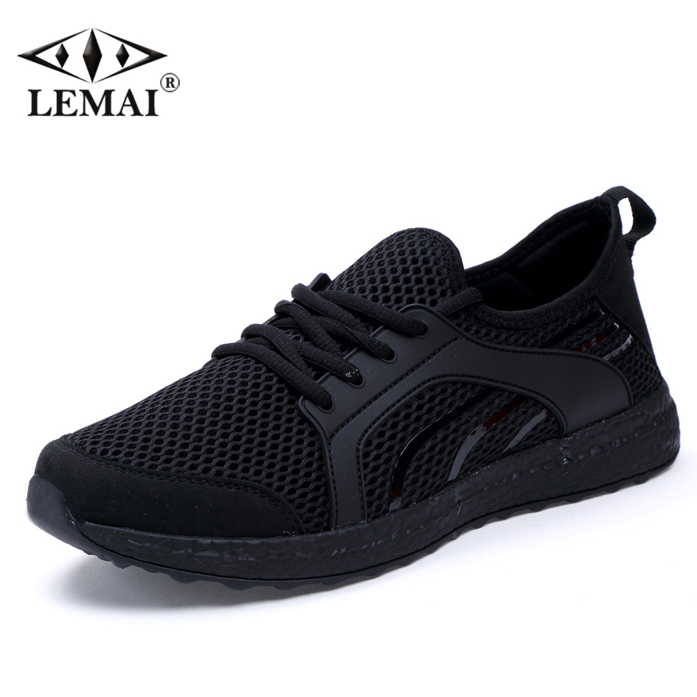 LEMAI Leisure Women Sneakers Summer Spring Breathable Air Mesh Boy Running shoes For Female Outdoor Sport Trainers f021-B apple summer new arrival men s light mesh sports running shoes breathable fly knit leisure comfortable slip on sneakers ap9001