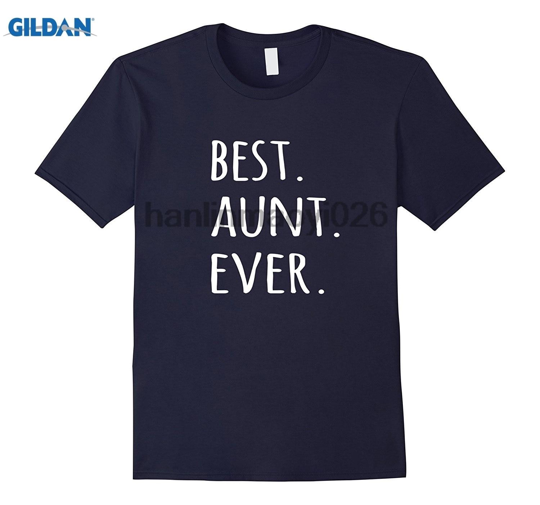 GILDAN Best Aunt Ever T-shirt tshirt for auntie aunty tee
