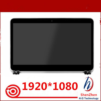 Original NEW 15.6 inch Laptop Complete LCD Full Display Assembly Screen Replacement For Dell XPS 15 L521X Silver