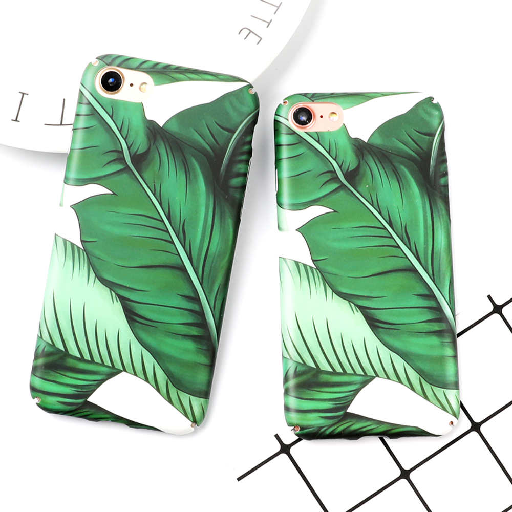 LOVECOM Hot Summer Banana Leave Protictive Case for iPhone 1