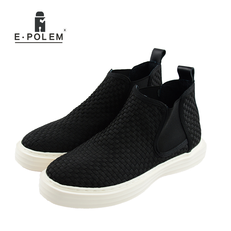 2017 Men Fashion Black Weaving Mesh Casual Shoes Outdoor Sneakers Breathable Shoes Summer Men Casual Slip On Hollow Out Shoes new arrival men fashion summer casual black mesh shoes outdoor sneakers breathable mens casual slip on hollow shoes
