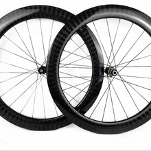 Bicycle Carbon-Wheelset Hubs Width-Disc-Brake 60mm Clincher/tubular Cyclocross 25mm Depth