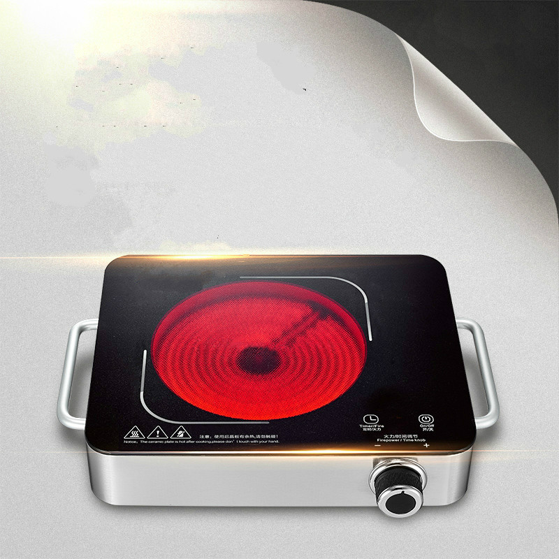 Hot Plates Electric ceramic furnace home tea electromagnetic intelligent light wave stove plate type explosive NEW