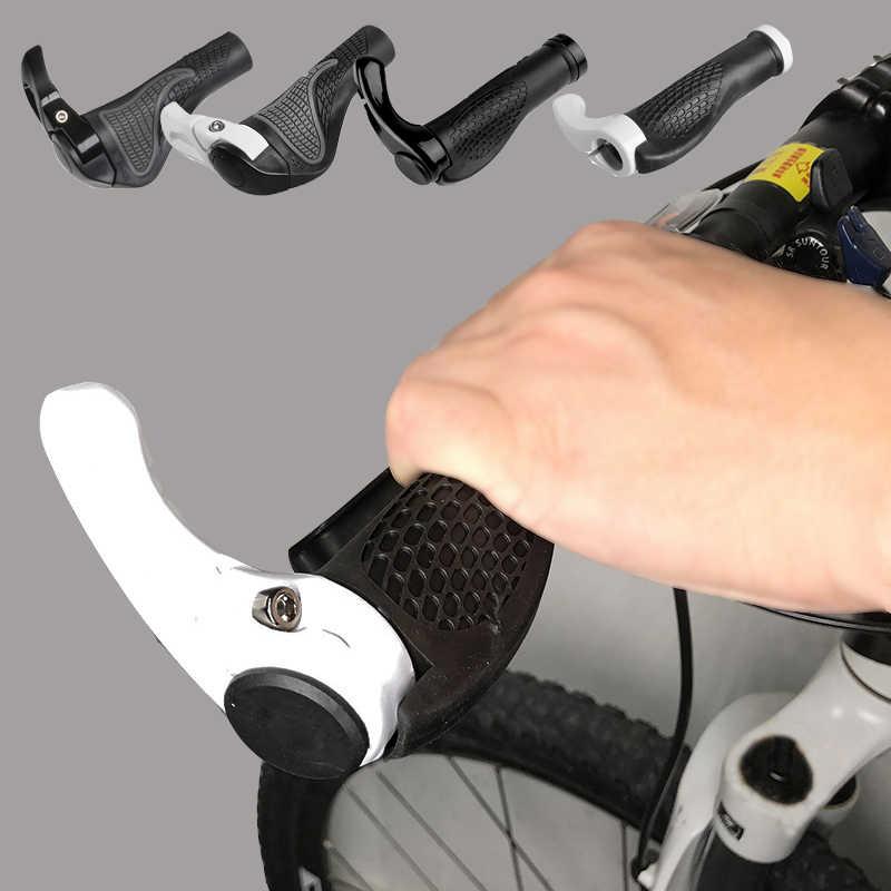 1Pair Quality Mountain Bicycle Lock On Handlebar Grips Bike Cycling MTB Bar Ends