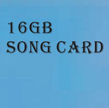 16 GB piosenki angielską kartę MTV piosenek Karaoke dla odtwarzacz Karaoke magia Karaoke śpiewać mikrofon SD-1 + tanie i dobre opinie 16gb MicroSD Card NoEnName_Null