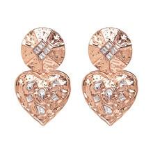 Alloy Diamond Stud Earrings Accessories Crystal Drop Dangle Bohemian Statement Wedding Party Jewelry
